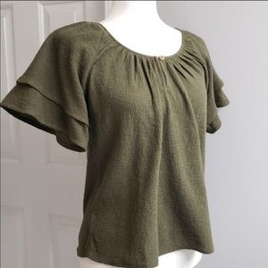 🆕✨Madewell Top Kale (Green) Size S
